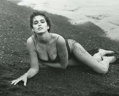 Herb Ritts, 'Cindy Crawford, Hawaii', 1988