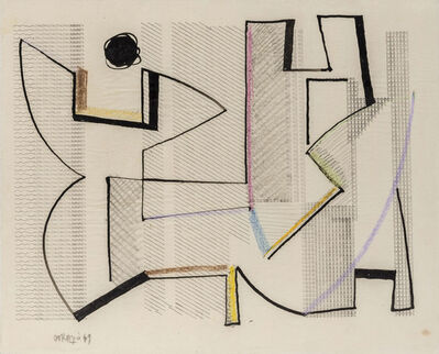 Piero Dorazio, 'Untitled', 1949