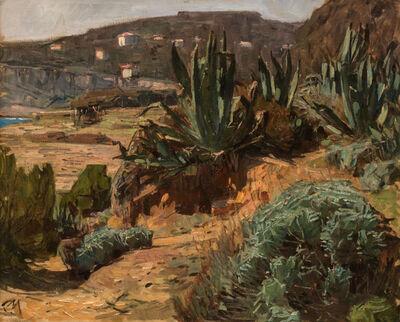 Carl Moll, 'Agaven in Beaulieu-sur-Mer', 1929
