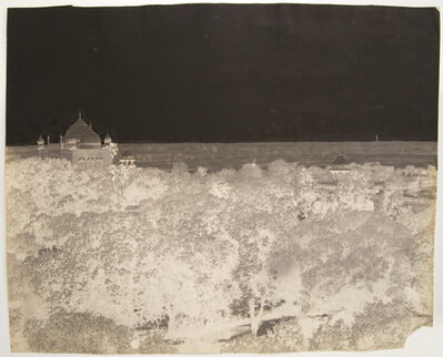Dr. John Murray, 'Right section, Taj Mahal panorama triptych', 1864