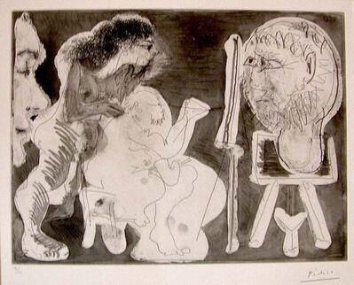 Pablo Picasso, 'Le Modèle et son Peintre ', 1963
