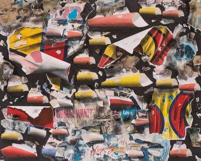 Burhan Dogançay, 'Kaleidoscopic Woman Want', 1987