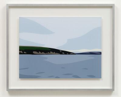 Julian Opie, 'Polridmouth Coast', 2017