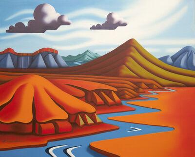 Joseph Comellas, ' Rivers Long Journey   (original oil on canvas) ', 2020