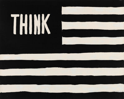 William Nelson Copley, 'Think (Flag)', 1967