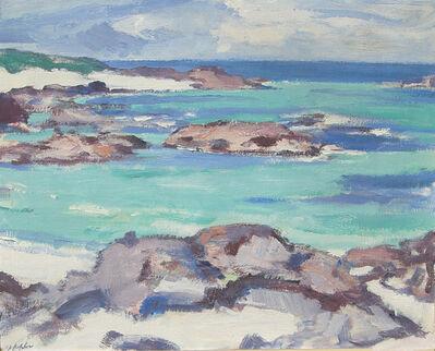 SJ Peploe, 'West Coast Shoreline (Rocky Shore)'