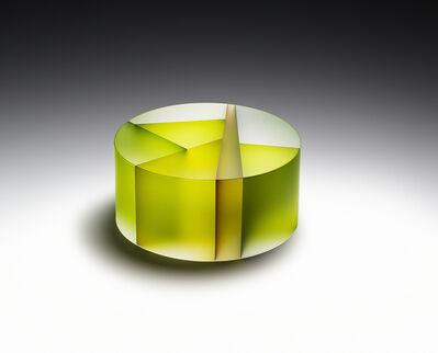 Jiyong Lee, 'Green Cylinder Segmentation', 2017
