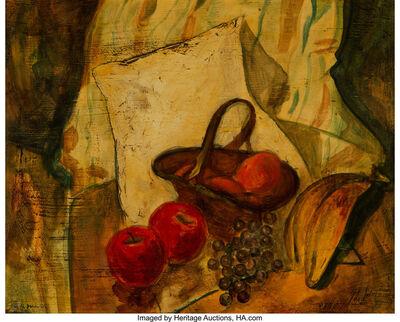 Alfred H. Maurer, 'Still Life of Fruit in a Basket'