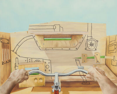 Alex Sewell, 'Tangerine Tank', 2017