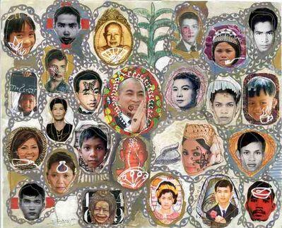Leang Seckon, 'Cambodian Faces', 2010