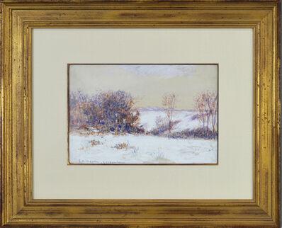 Lewis Henry Meakin, 'Snow Scene'