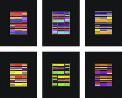 Liam Gillick, 'Six Discussion Screens', 2009