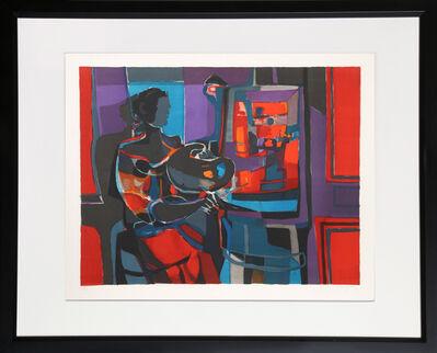 Marcel Mouly, 'Artiste dans l'Studio', ca. 1977