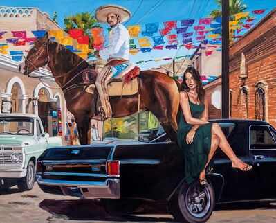 Tracy Stuckey, 'Todos Santos Street', 2021