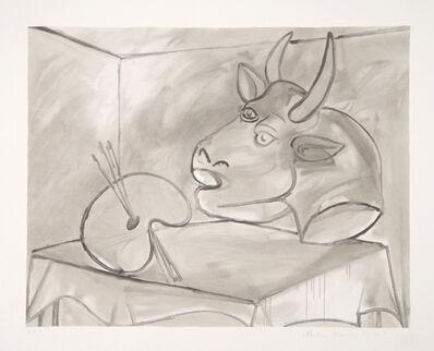 Pablo Picasso, 'Nature Morte a la Palette et la Tête, 1938', 1979-1982