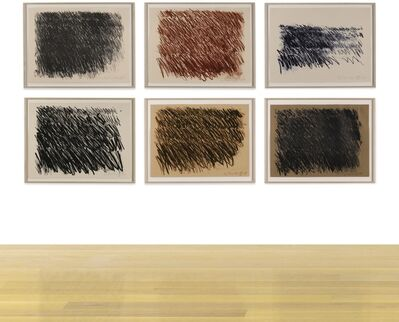 Cy Twombly, 'Untitled [Six Works]'