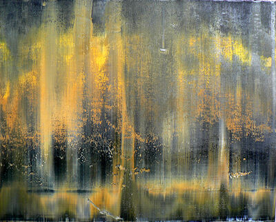 Harry Moody, 'Black Yellow Abstract Horizon #1'