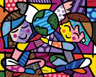 Romero Britto, 'Children of the World'