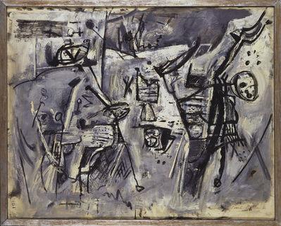 Paul Burlin, 'Paysage Animé', 1957