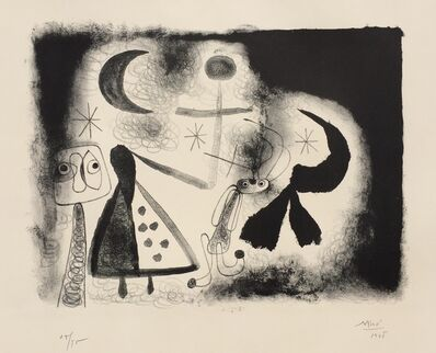 Joan Miró, 'Album 13 – Plate V', 1948