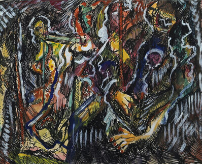 Alfred Morang, 'Figures in the Abstract', 1955