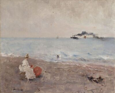 Alfred Stevens, 'Sur la plage', Not dated