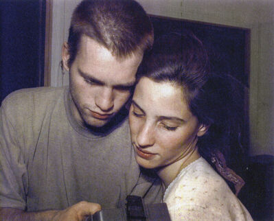 Lucien Samaha, 'Celine and Jorg At Moment of Capture, Crosman Terrace, Rochester, NY,', 1991