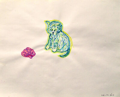 A. Lutz, 'Cat & Turtle', 2015