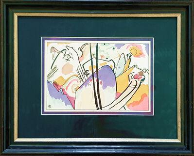 "Wassily Kandinsky, 'Woodcut from "" Der Blaue Reiter ""', ca. 1910"