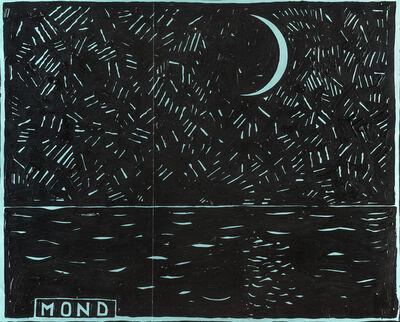 """Aldo Mondino, '""""MOND""""', 1980"""