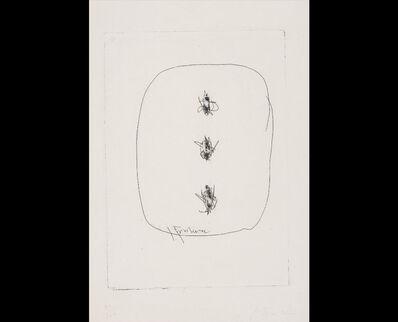 Lucio Fontana, 'Concetto Spaziale', Circa 1966