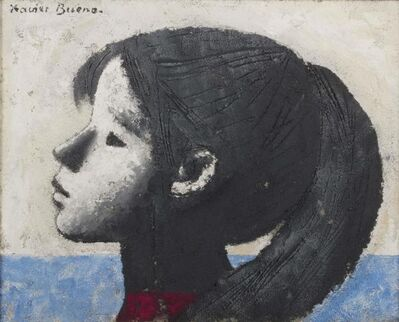 Xavier Bueno, 'Profile of young girl', performed in 1979
