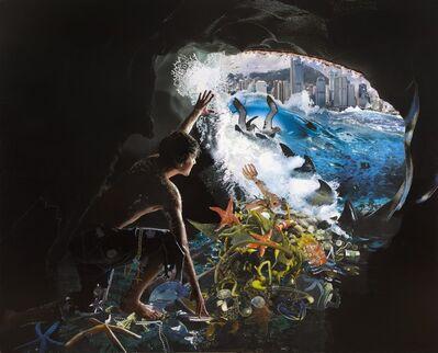 David Mach, 'Jonah & the Whale', 2011