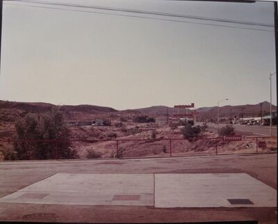 Stephen Shore, 'US 93, Kingman, AZ', 1975