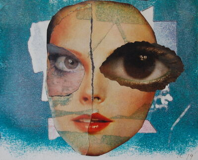 Inge Clayton, 'Collage face', 1979