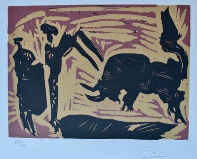 Pablo Picasso, 'The Banderillas I', ca. 1980