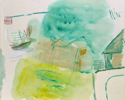 Leng Hong 冷宏, ' Spring Willow Trees', 2011