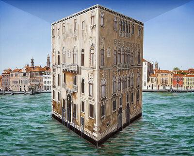 Patrick Hughes, 'Solo Palazzo', 2015