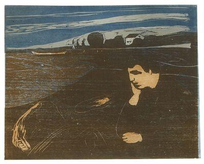 Edvard Munch, 'Melancholy III (Schiefler 144; Woll 203)', 1902