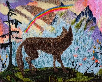 Johnny DeFeo, 'Rainbow Wolf', 2019