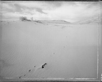 Mark Klett, 'Gun found in drifting sand, Kelso, CA, 1/22/87', 1987