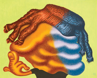 "Peter Saul, '""Untitled (Head)""', 2012"