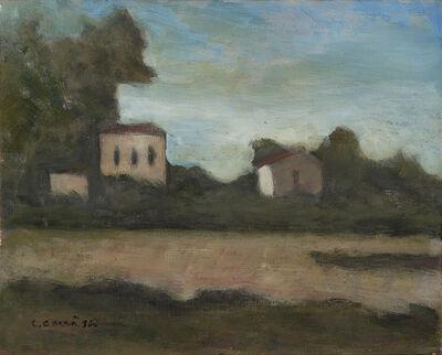 Carlo Carrà, 'Paesaggio di Forte dei Marmi', 1963