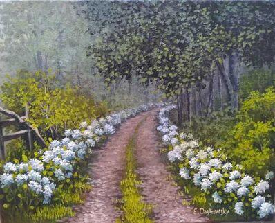 Edite Osztrovszky, 'Path of Hydrangeas', 2015