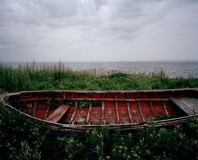 Bertrand Carrière, 'Chaloupe rouge, Carleton-sur-mer, Gaspésie (Série Après Strand)', 2010
