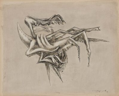 Theodore Roszak, 'Sketch for Spectre', 1949