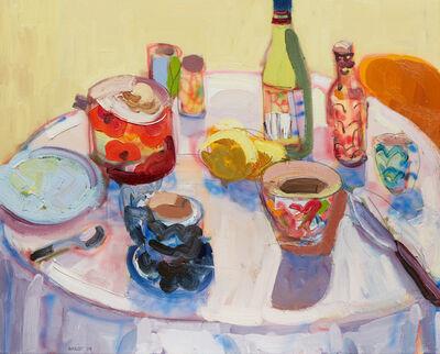 John Bokor, 'Wine and Lemons', 2019