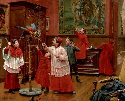 Paul Chocarne-Moreau, 'Soyez gentils avec les animaux', Late 19th/Early 20th Century