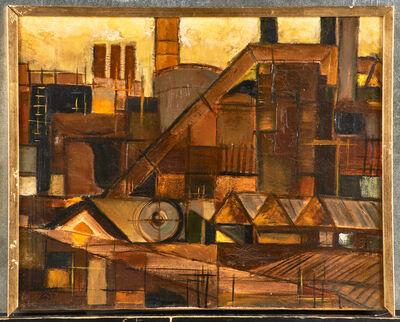 Werner Drewes, 'Untitled (Industrial Landscape)', 1952