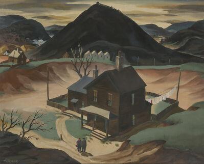 Henry Gasser, 'Mining Town, Pennsylvania'